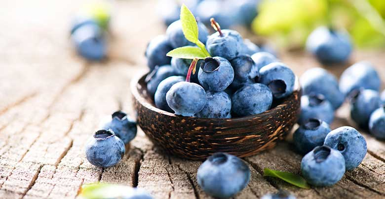 Blueberries are a good food to help for osteoarthritis and joint problems