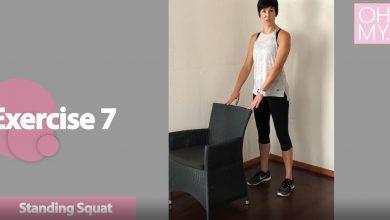 Mini squats for meniscus tear