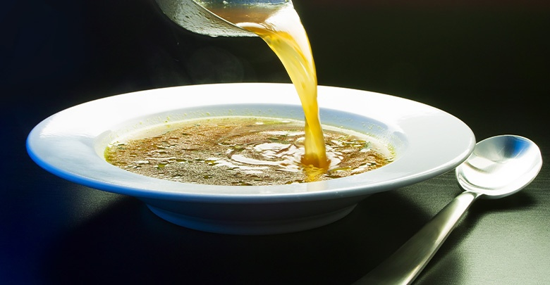another benefit of bone broth is that it helps collagen production