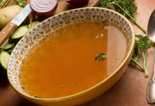 The benefits of bone broth for osteoarthritis include helping collagen in the joints