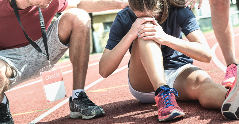 Symptoms of ACL tear include extreme pain, instability and sudden swelling